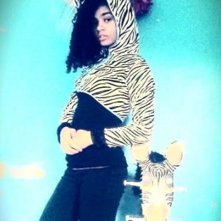 16-year-old Meri, future model