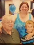 The author, dad, & nephew