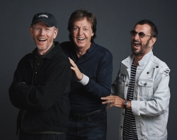 Ron Howard, Paul McCartney, and Ringo Starr