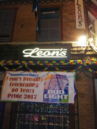 Leon's walls can't talk, but old patrons can!