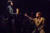 Josh Davis and Nick Cartell in Les Mis at the National Theatre