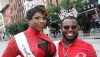 Outgoing Queen of Pride 2017 Dee Diamond and King of Pride 2017 Titan Legacy