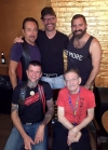 Five Mr. Maryland Leather titleholders at The Loft, July 17