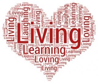 Living, Learning, Loving, Laughing