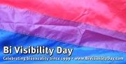 Bi Visibility Day September 23rd