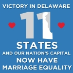 Delaware Approves Marriage Equality