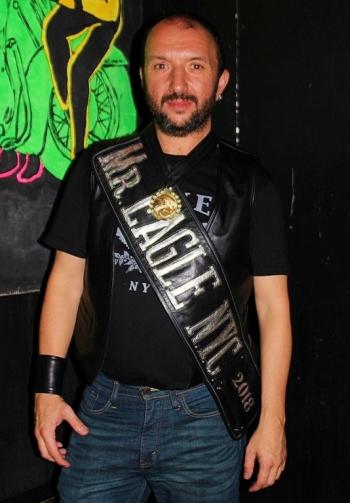 Mr. Eagle NYC 2018 winner Joseph Macchia